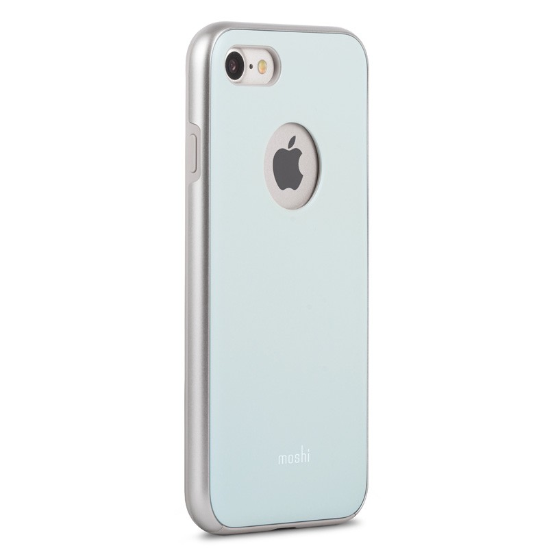 Moshi iGlaze Napa iPhone 7 Powder Blue - 3