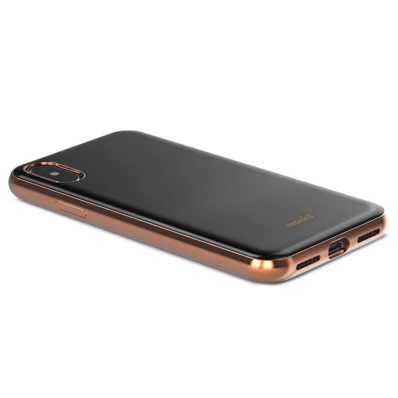 Moshi iGlaze iPhone X Imperial Black - 3