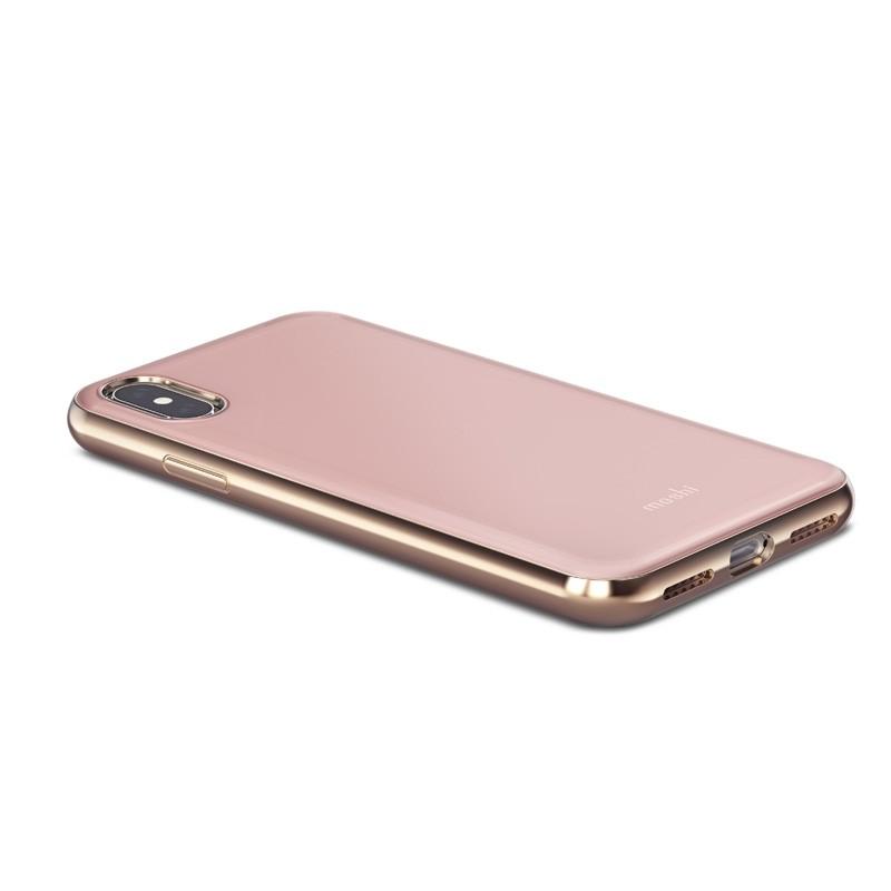 Moshi iGlaze iPhone X/Xs Taupe Pink - 3