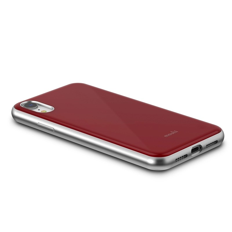 Moshi iGlaze iPhone XR Cover Rood 03
