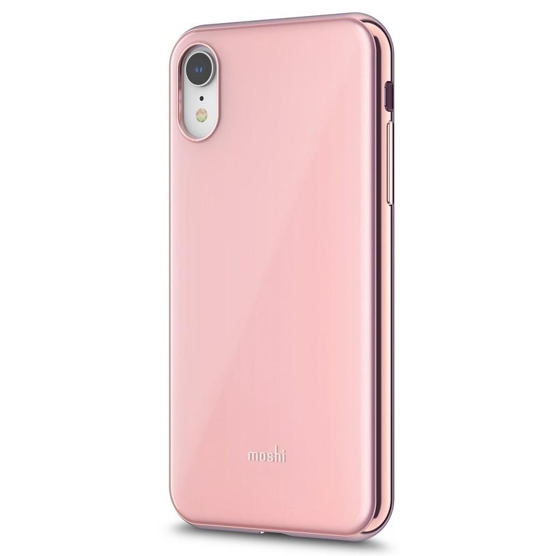 Moshi iGlaze iPhone XR Cover Roze 02