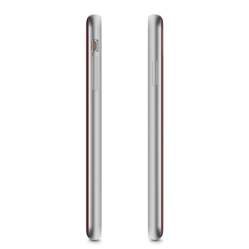 Moshi iGlaze iPhone XS Max Hoesje Merlot Rood 03