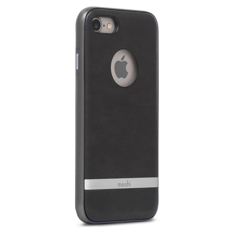 Moshi iGlaze Napa iPhone 7 Charcoal Black - 3