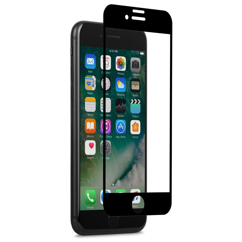 Moshi IonGlass iPhone 6/6S/7  Black - 3