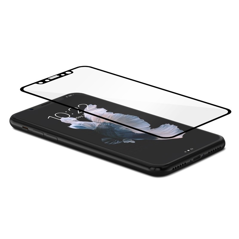 Moshi IonGlass iPhone X/Xs Black/Clear - 3
