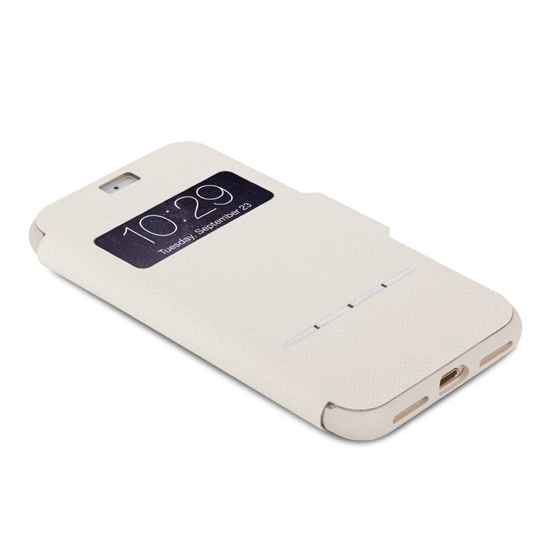 Moshi SenseCover iPhone 7 Stone White - 3