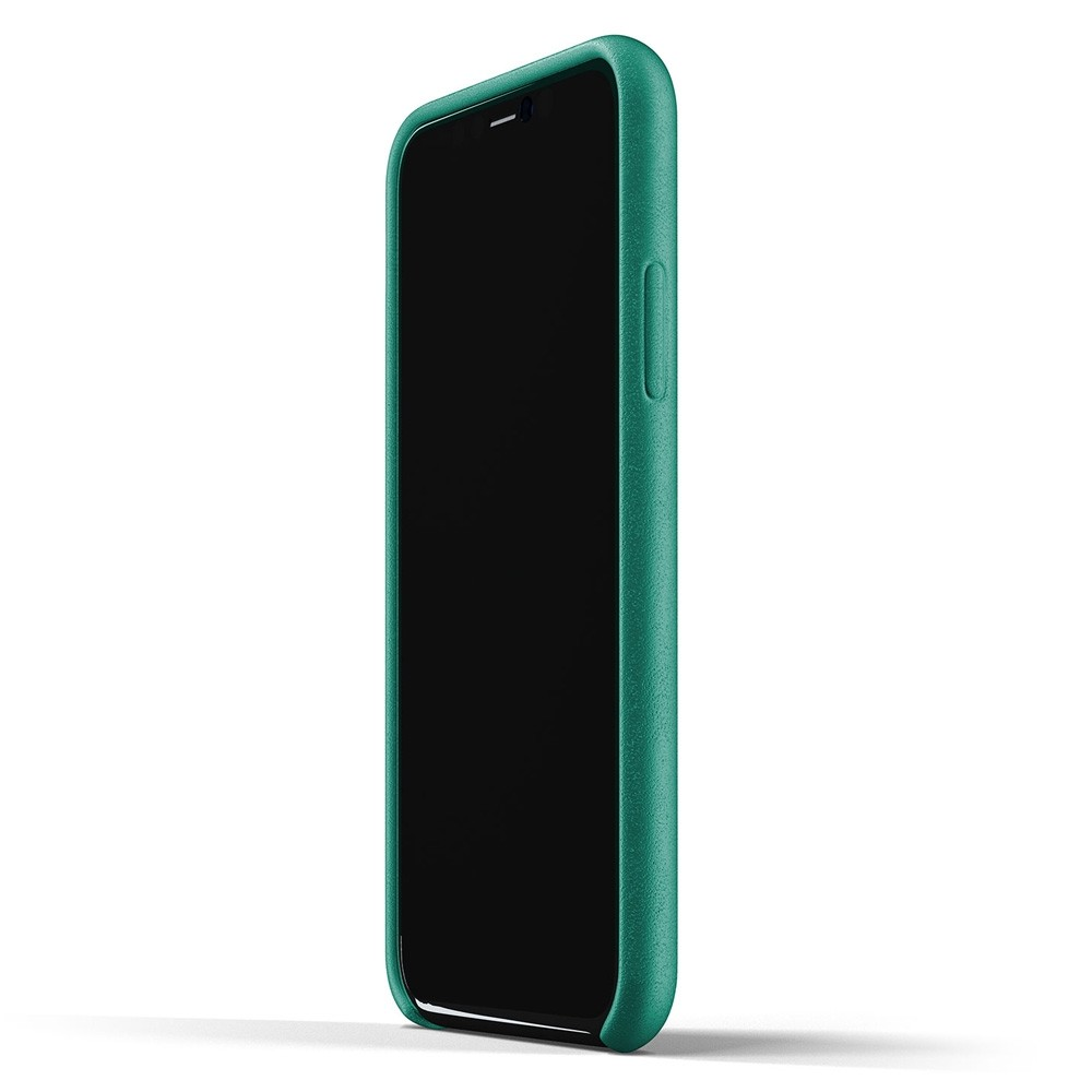 Mujjo Full Leather Case iPhone 11 Pro alpine green - 3