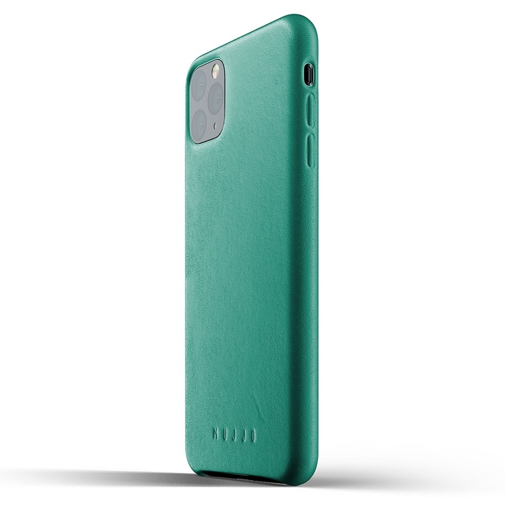 Mujjo Full Leather Case iPhone 11 Pro Max alpine green - 3
