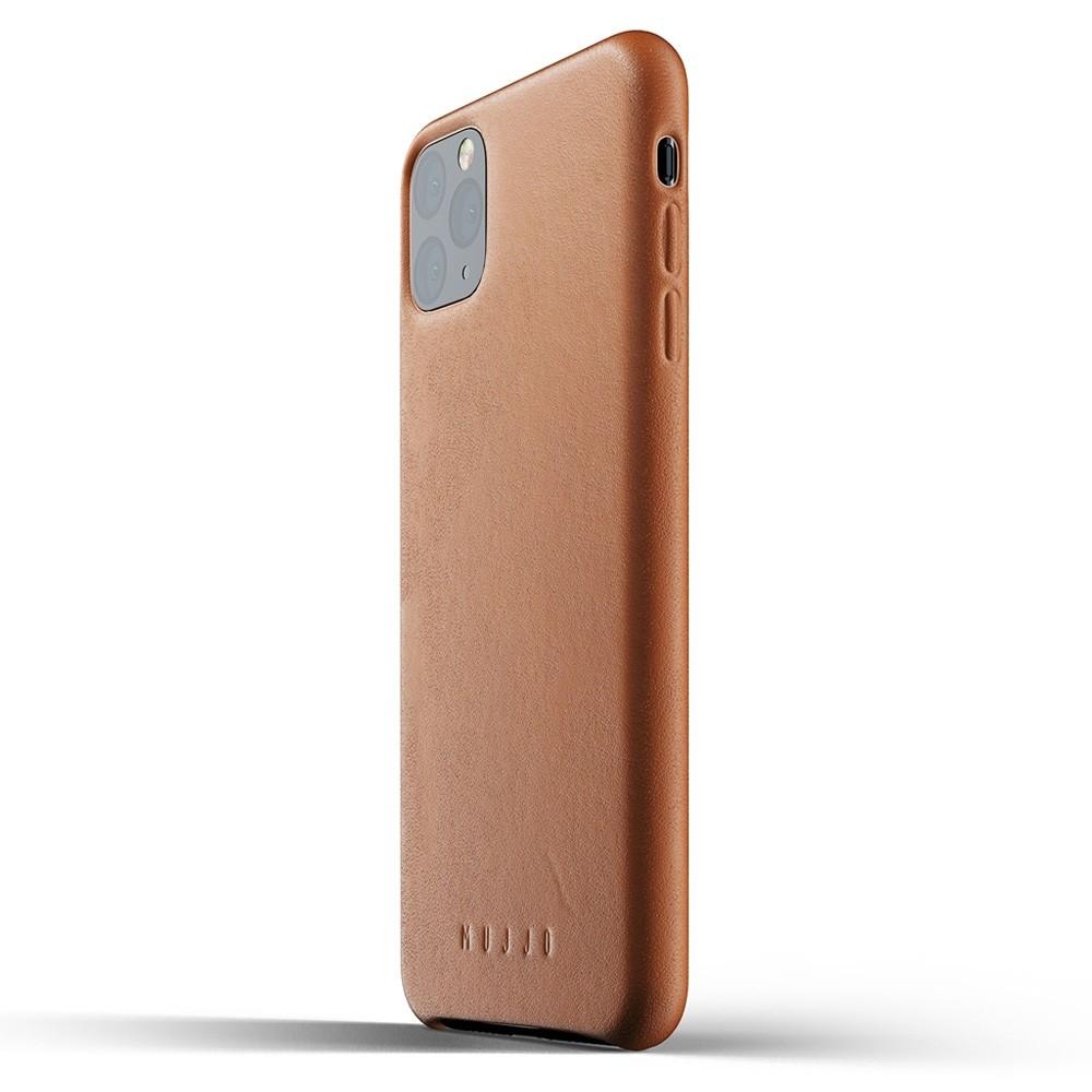 Mujjo Full Leather Case iPhone 11 Pro Max bruin - 3