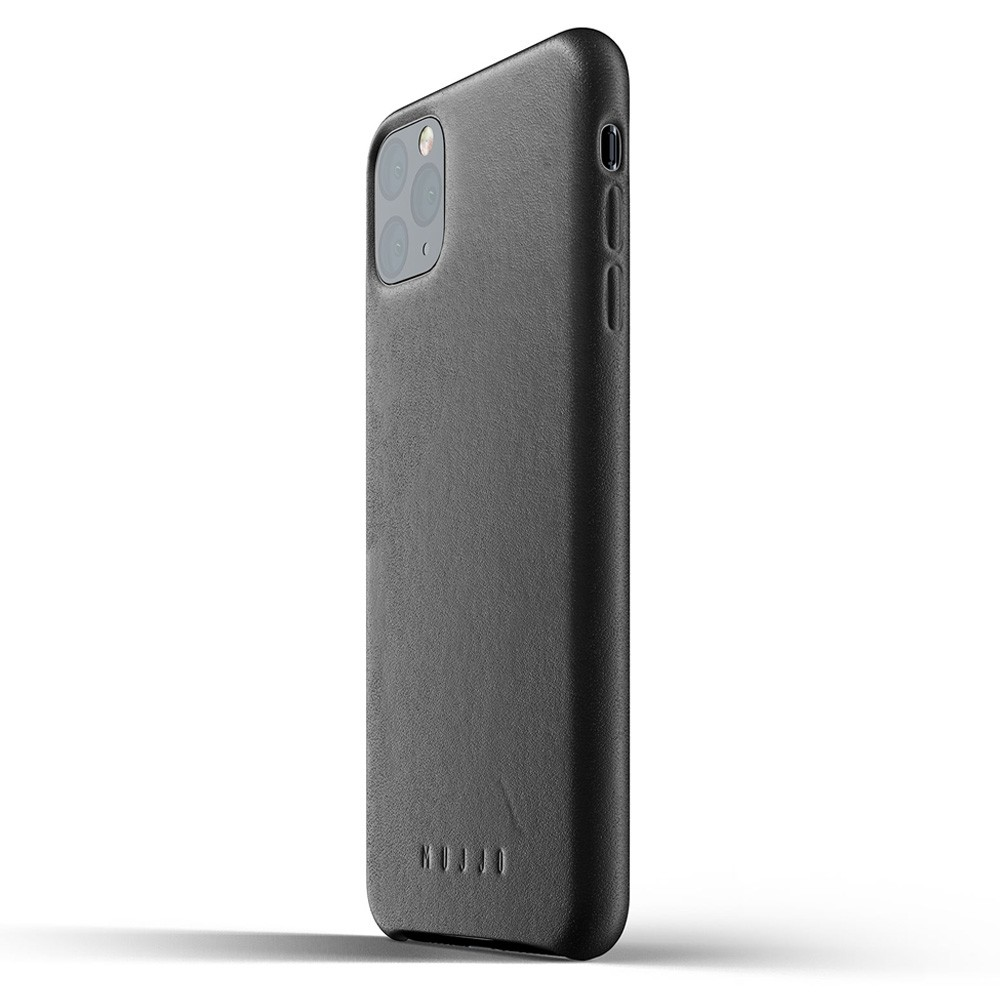 Mujjo Full Leather Case iPhone 11 Pro Max zwart - 3