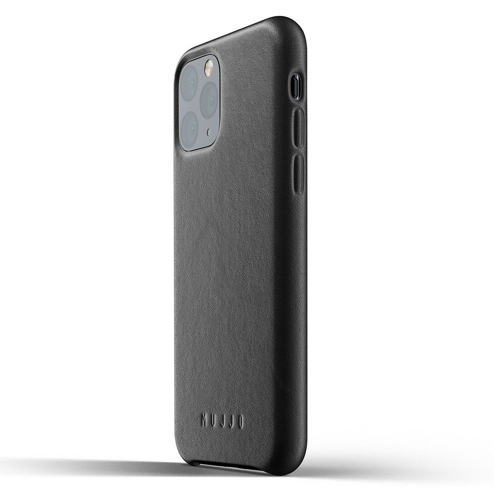 Mujjo Full Leather Case iPhone 11 Pro zwart - 3