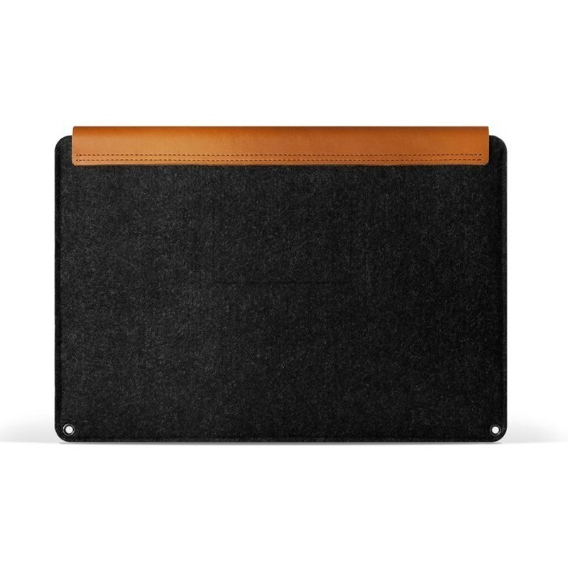 Mujjo Leather Sleeve Macbook 12 inch tan - 3