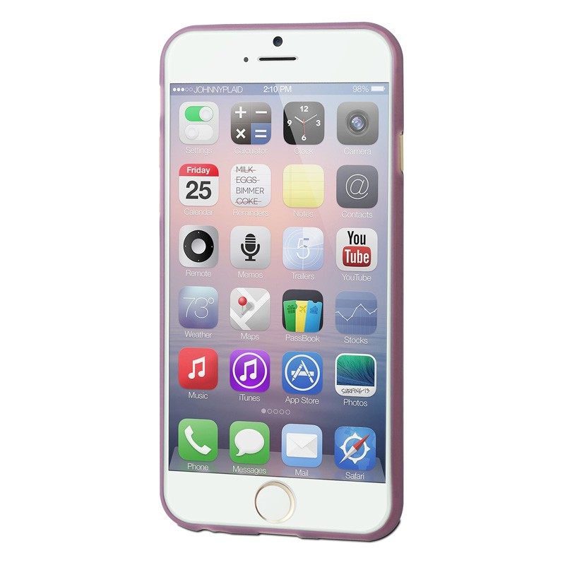 Muvit ThinGel iPhone 6 Purple - 3