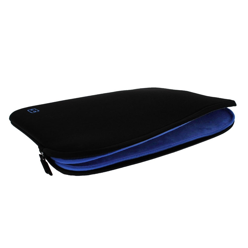 MW Sleeve voor Macbook Pro 13 inch / Macbook Air 2018 Zwart/Blauw - 3