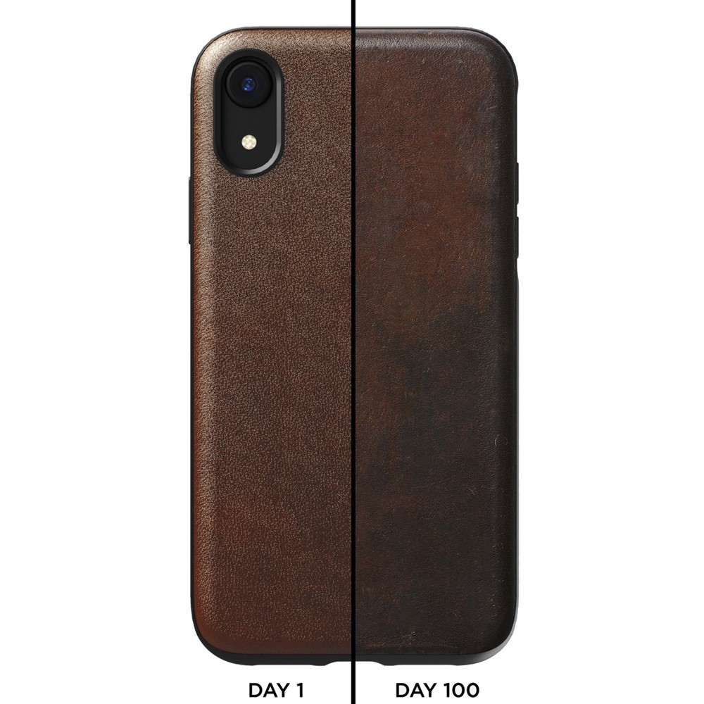 Nomad - Leather Case Apple iPhone XR Bruin 03