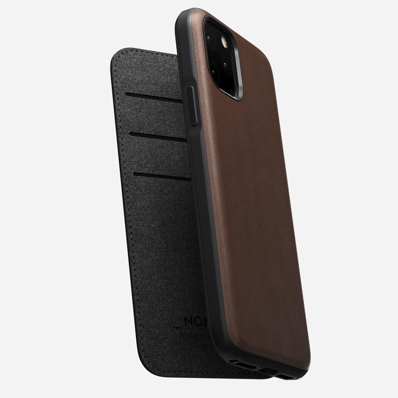 Nomad Rugged Folio iPhone 11 Pro Max Bruin - 3