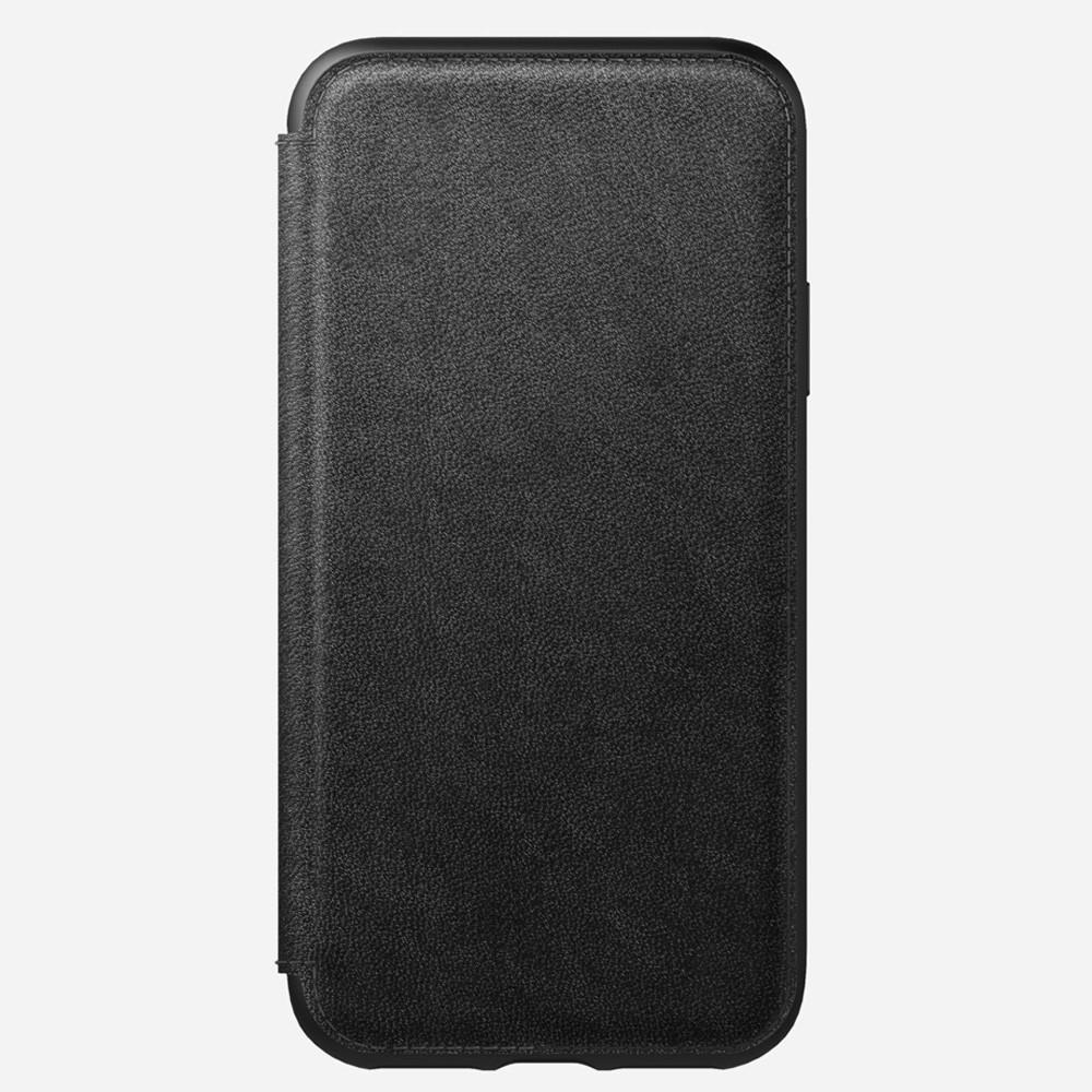 Nomad Rugged Leather Folio iPhone X/XS Zwart - 3