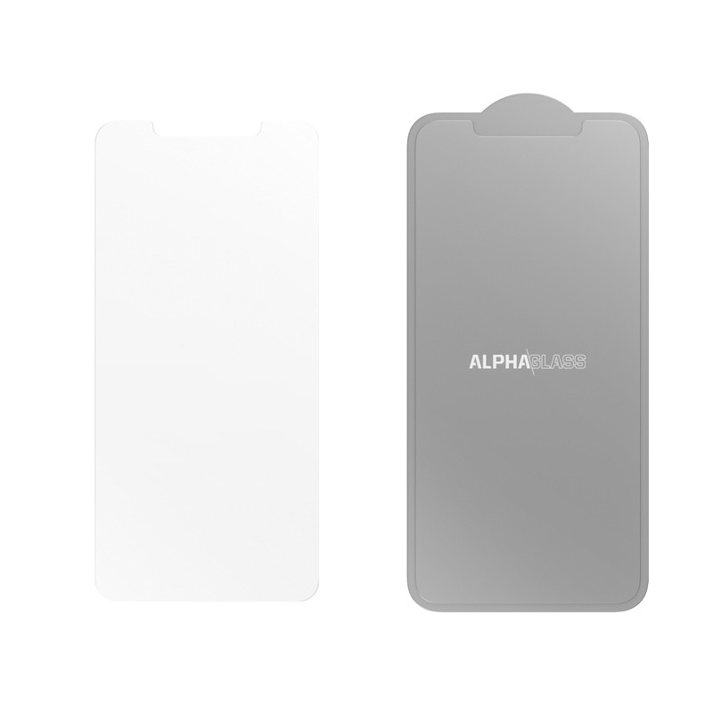uk availability a2638 0b50b Otterbox - Alpha Glass iPhone XS Max Screen Protector transparant