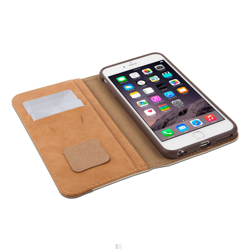 Moshi Overture Wallet Case iPhone 6 Plus Sahara Beige - 3