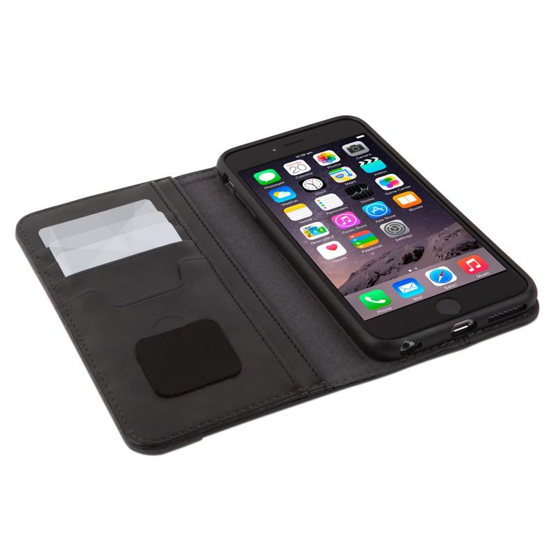 Moshi Overture Wallet Case iPhone 6 Plus Steel Black - 3