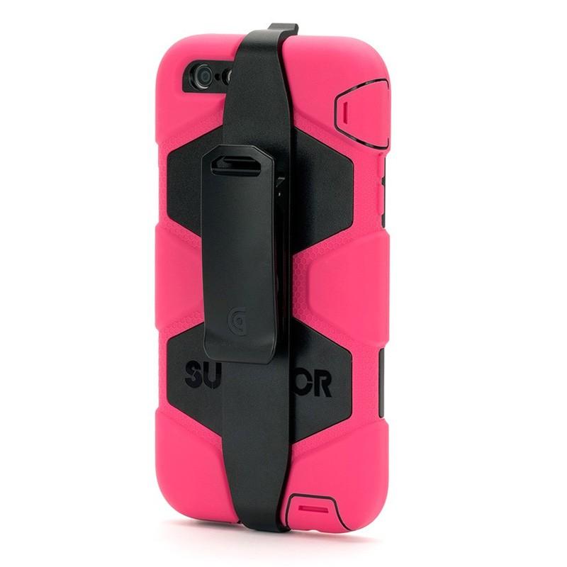 Griffin Survivor Case iPhone 6 Plus Black/Pink - 3