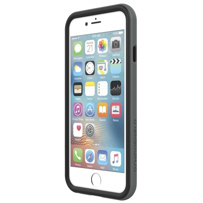 Rhinoshield Crash Guard Bumper iPhone 8/7 grijs 03