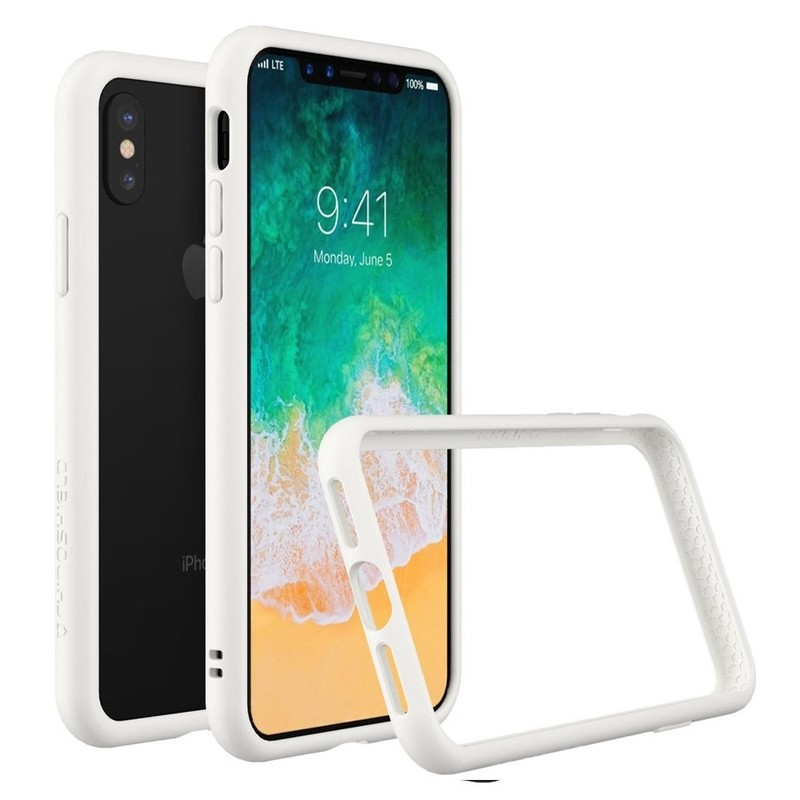Rhinoshield CrashGuard Bumper iPhone X Wit - 3