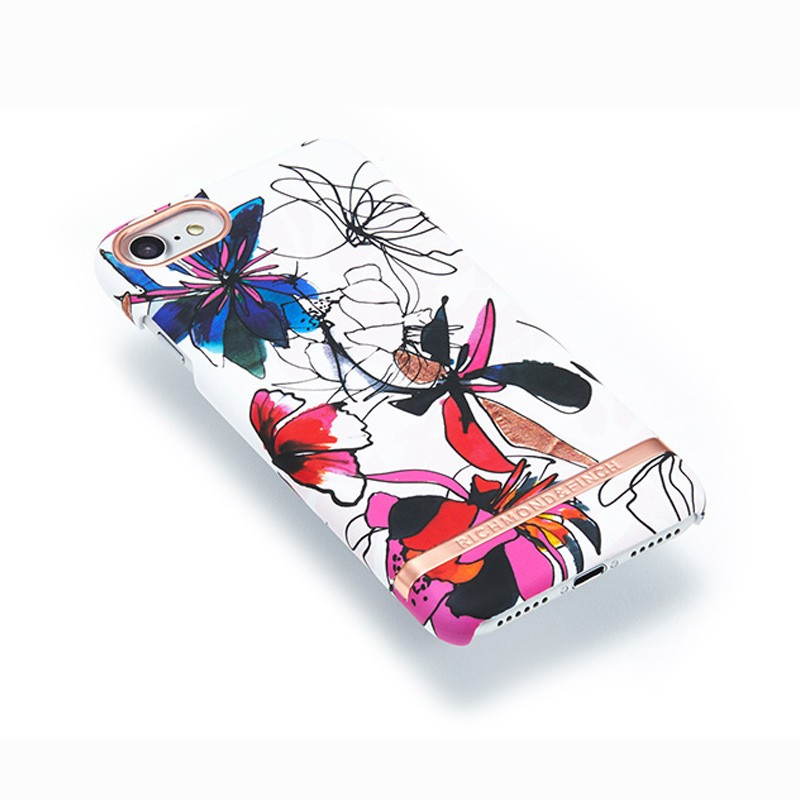 Richmond & Finch - Blossom Hoesje iPhone 7 Enchanted Satin 03