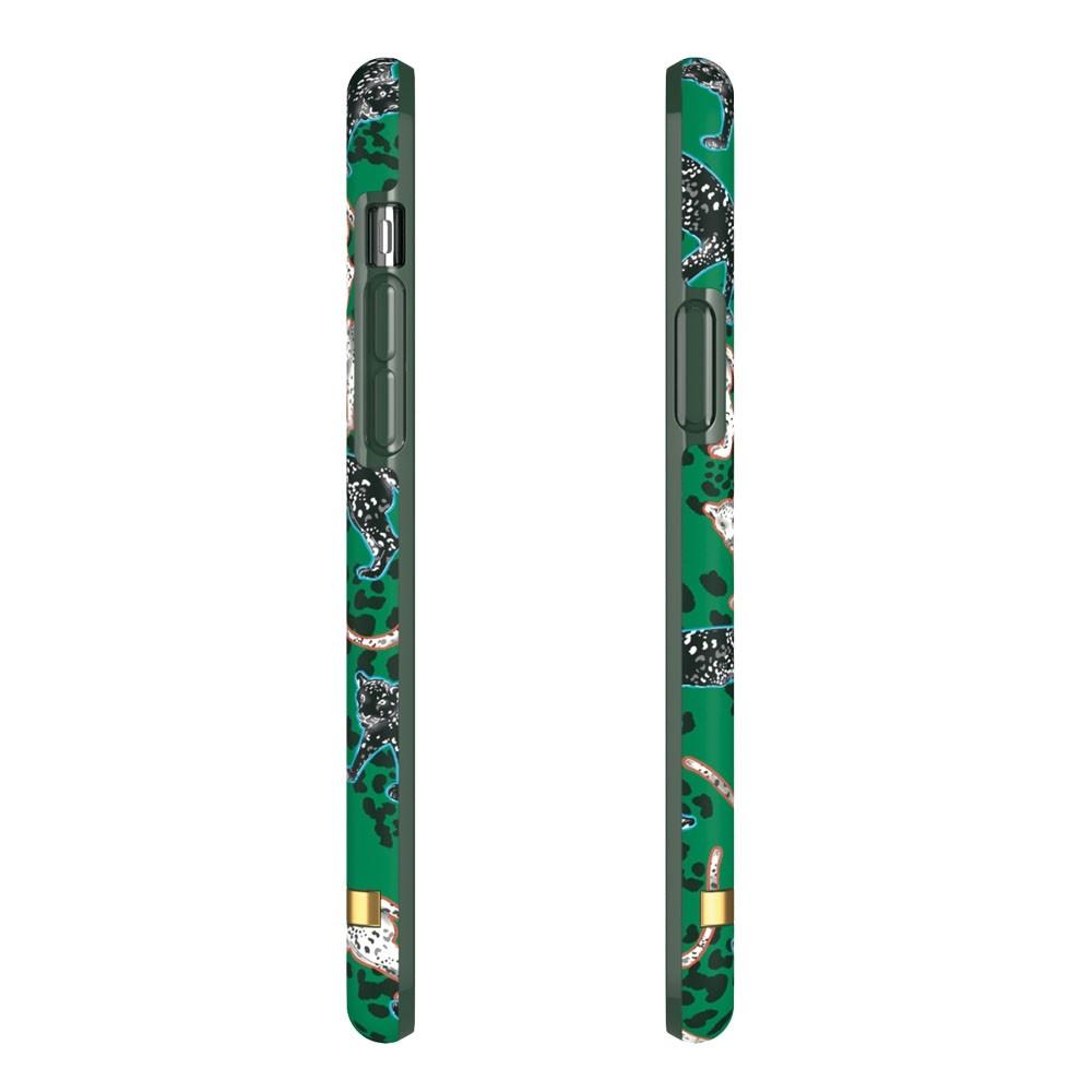 Richmond & Finch iPhone 12 / 12 Pro 6.1 inch Hoesje Green Leopard - 3