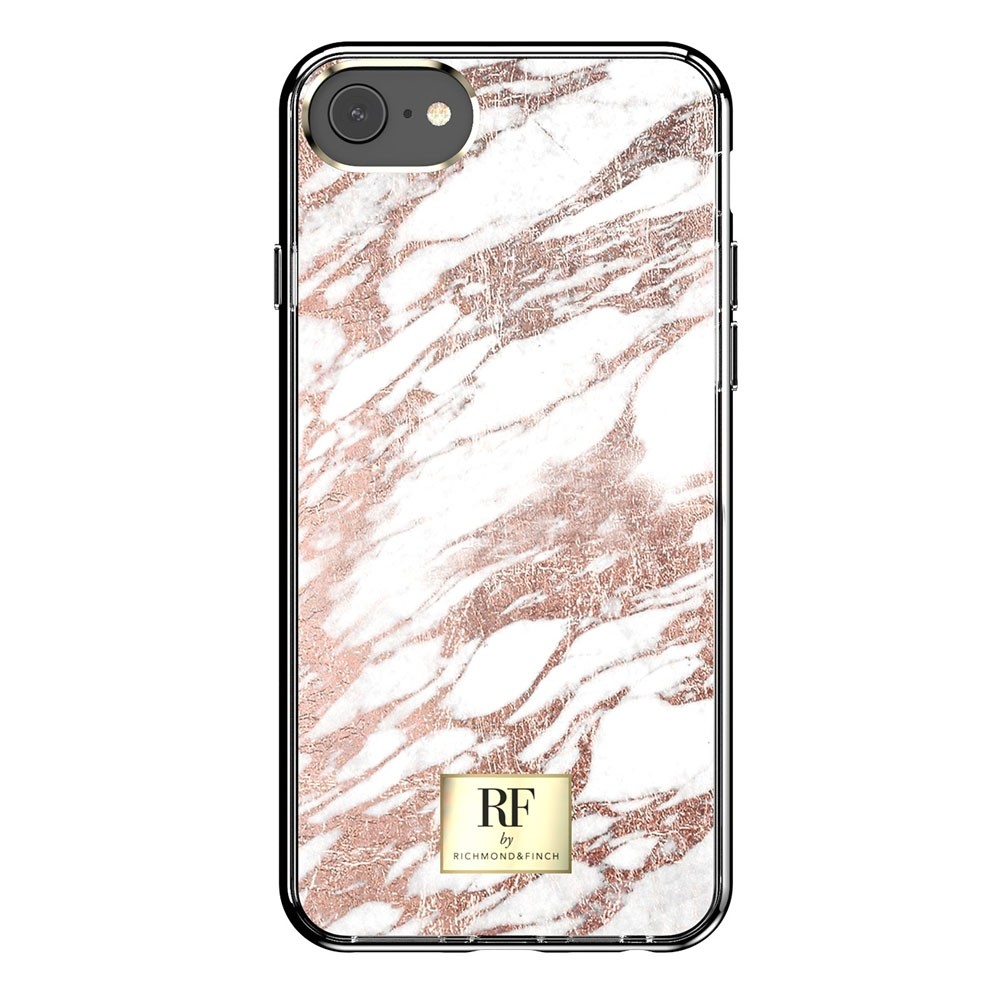 Richmond & Finch RF Series TPU iPhone 8/7/6S/6 Rose Gold Marble - 3