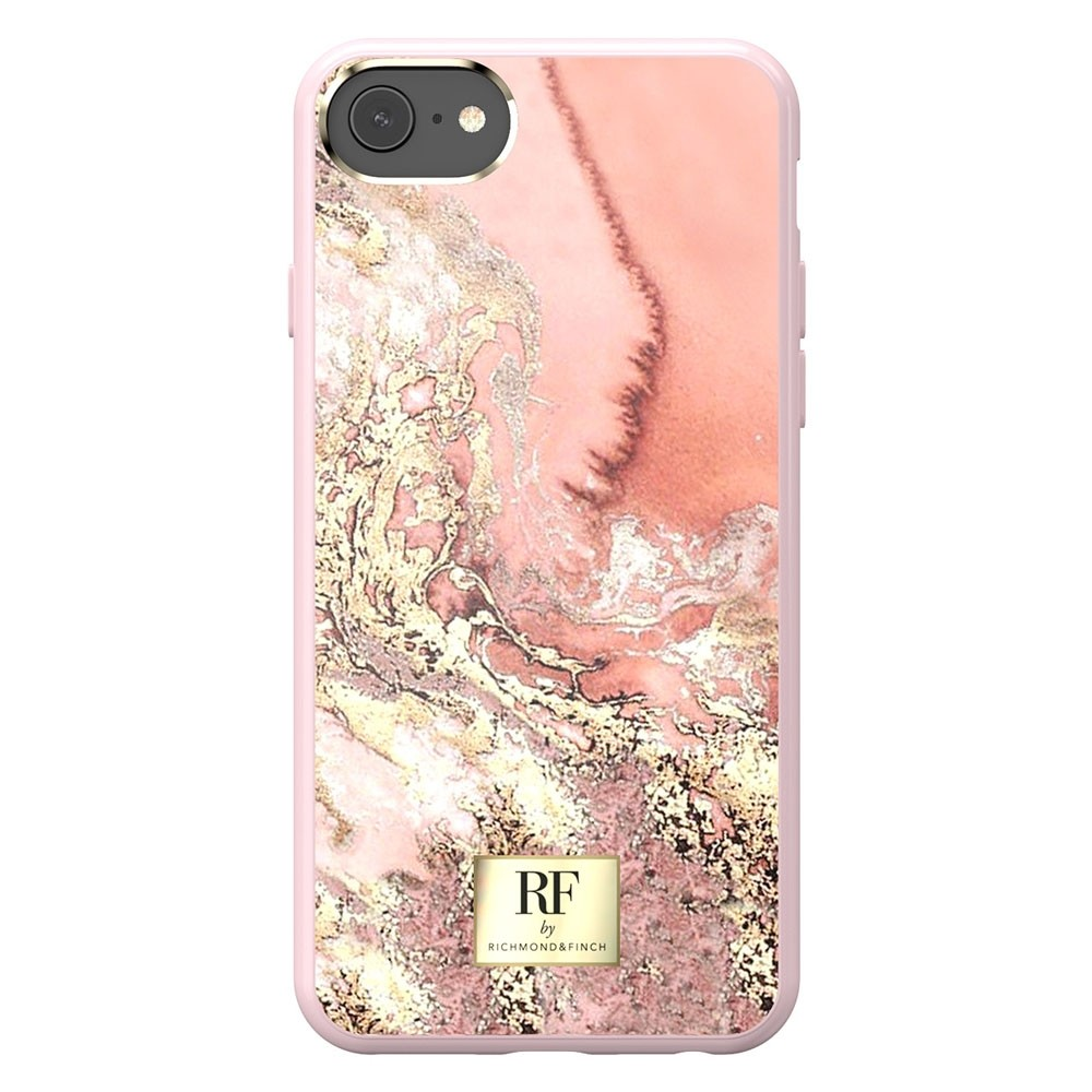 Richmond & Finch RF Series iPhone X/XS Pink Marble/Gold - 3
