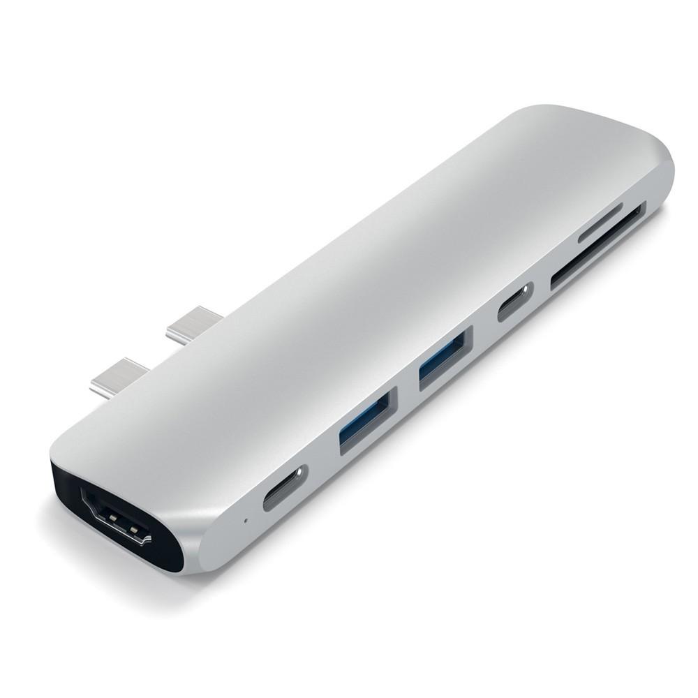 Satechi USB-C Pro Hub Adapter Zilver - 3