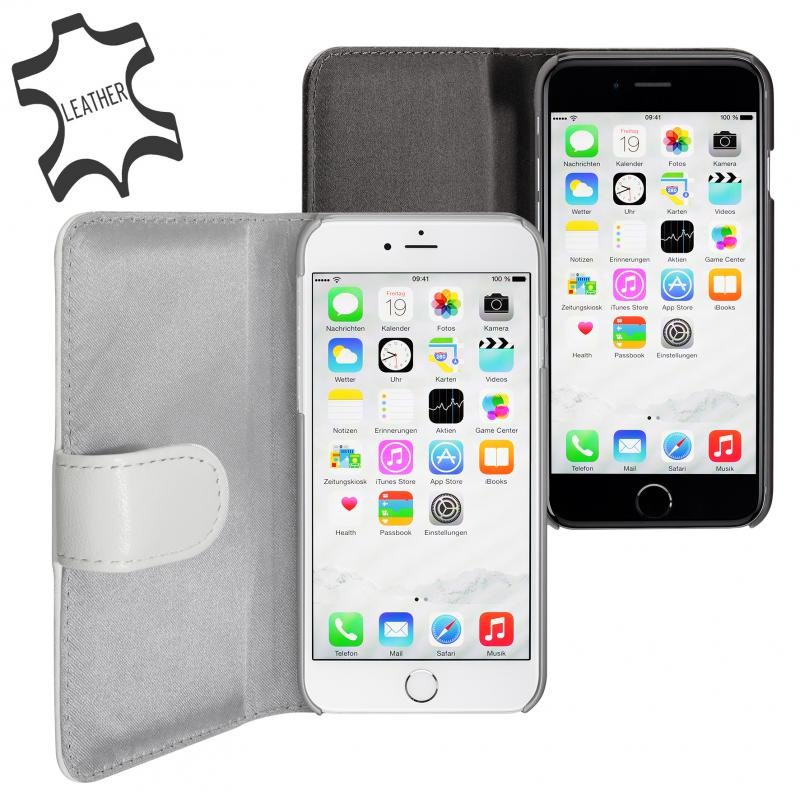 Artwizz SeeJacket Leather iPhone 6 Plus White - 3