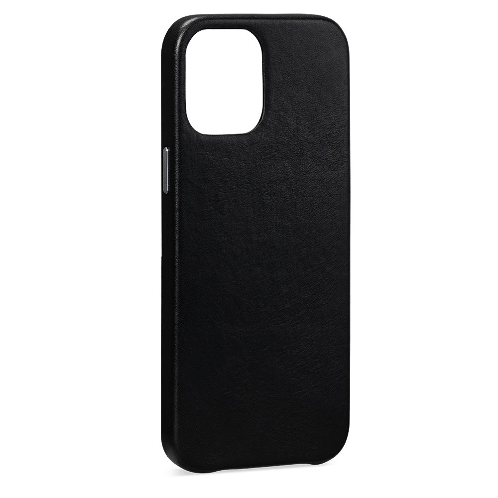 Sena Leather Skin iPhone 12 Mini Zwart - 3