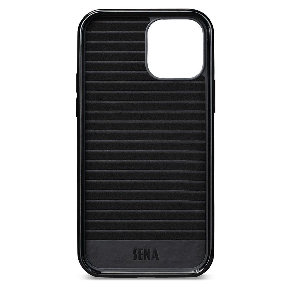Sena Lugano Wallet iPhone 12 / 12 Pro Bruin - 3