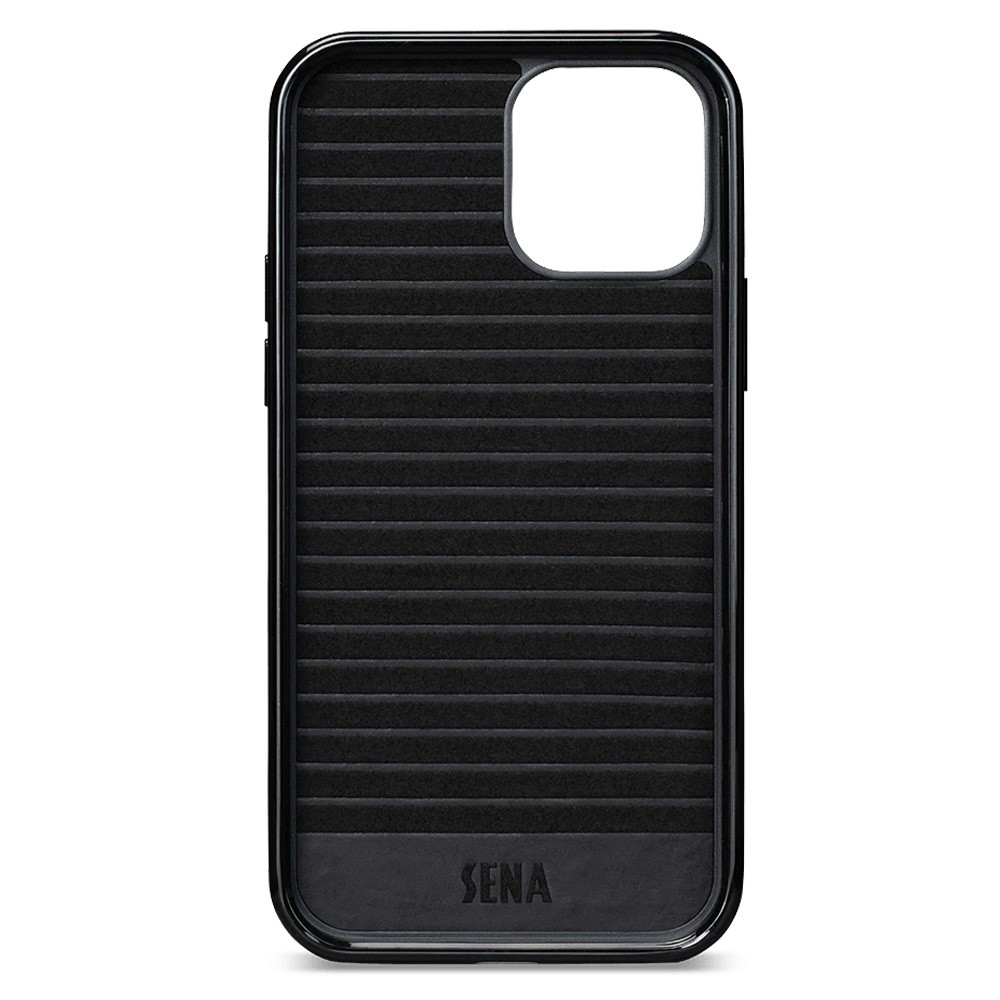 Sena Lugano Wallet iPhone 12 Mini Bruin - 3