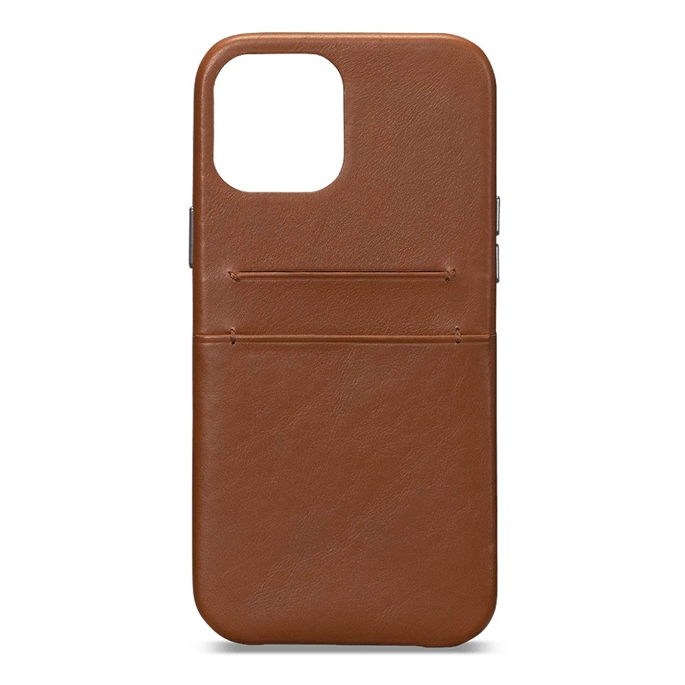 Sena Snap On Wallet iPhone 12 / 12 Pro 6.1 inch Bruin - 3