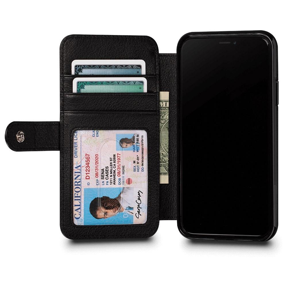 Sena Wallet Book Classic iPhone X/Xs Zwart - 3