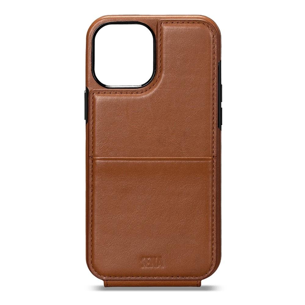 Sena Wallet Skin iPhone 12 Pro Max Bruin - 3
