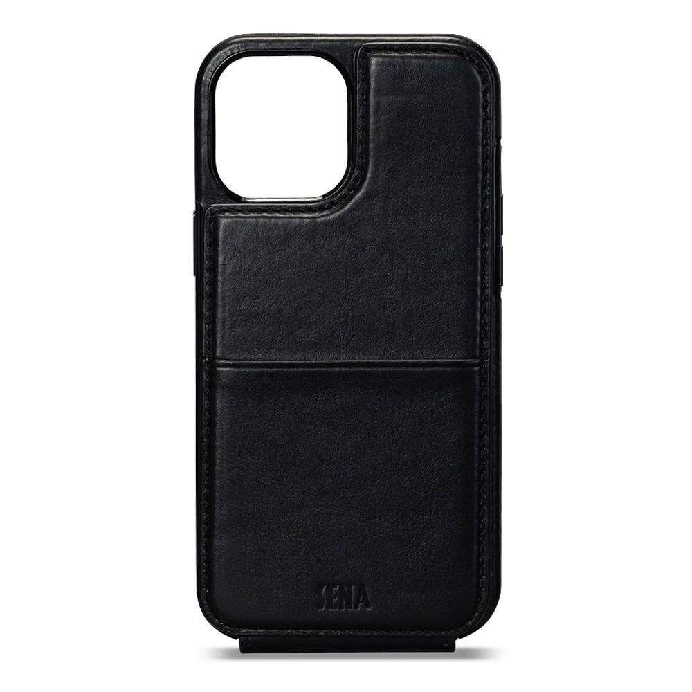 Sena Wallet Skin iPhone 12 Pro Max Zwart - 3