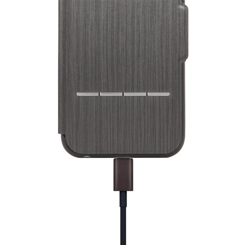 Moshi SenseCover iPhone 6 Steel Black - 3