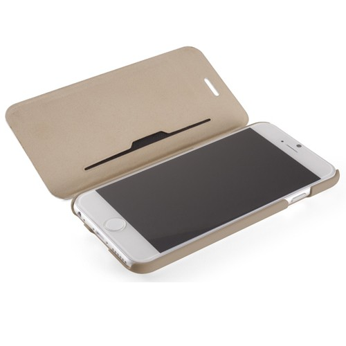 Element Case Soft-Tec Folio iPhone 6 White/Gold - 3