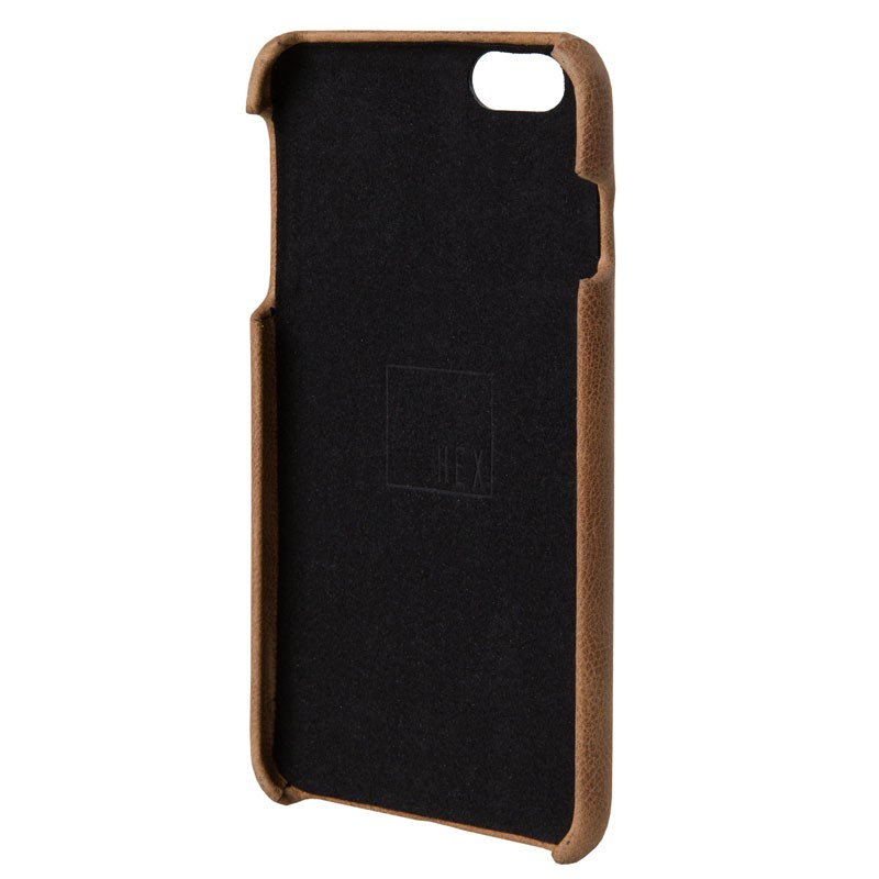HEX Solo Wallet Case iPhone 6 Plus Dressed Brown - 3