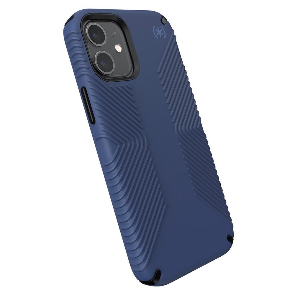 Speck Presidio Grip Case iPhone 12 Mini Blauw - 3