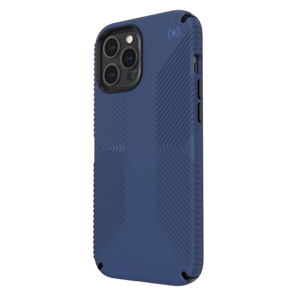 Speck Presidio Grip Case iPhone 12 Pro Max Blauw - 3