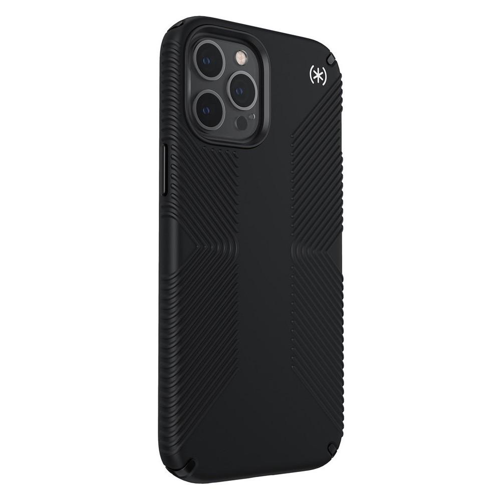 Speck Presidio Grip Case iPhone 12 Pro Max Zwart - 3