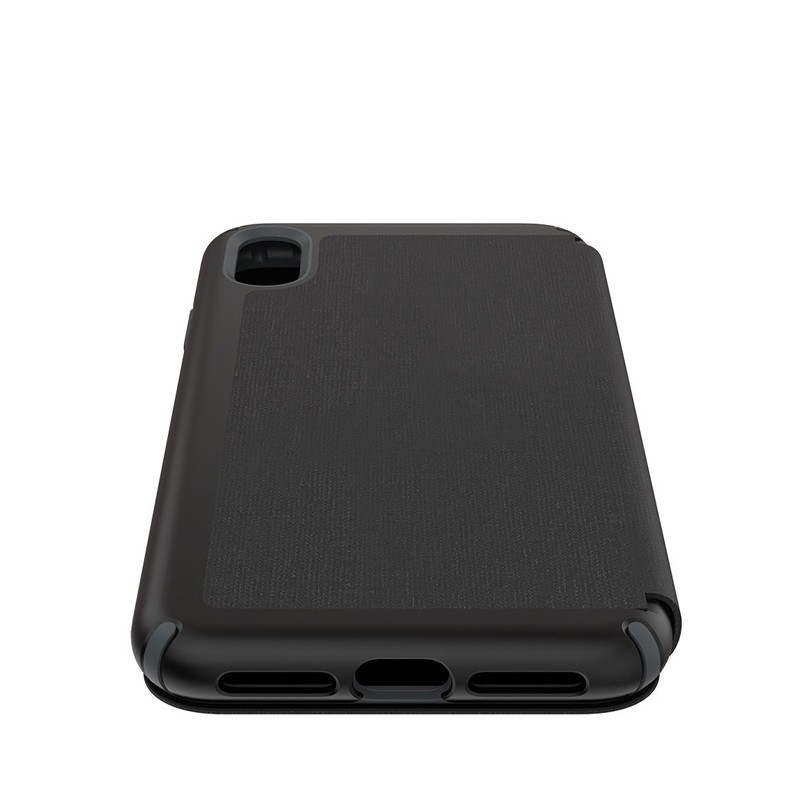 Speck Presidio Folio iPhone XS Max Case Zwart 03