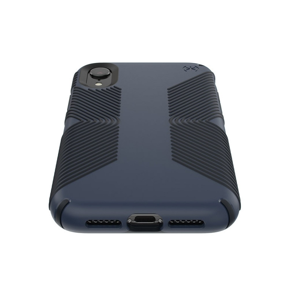 Speck Presidio Grip Case iPhone XR Blauw 03