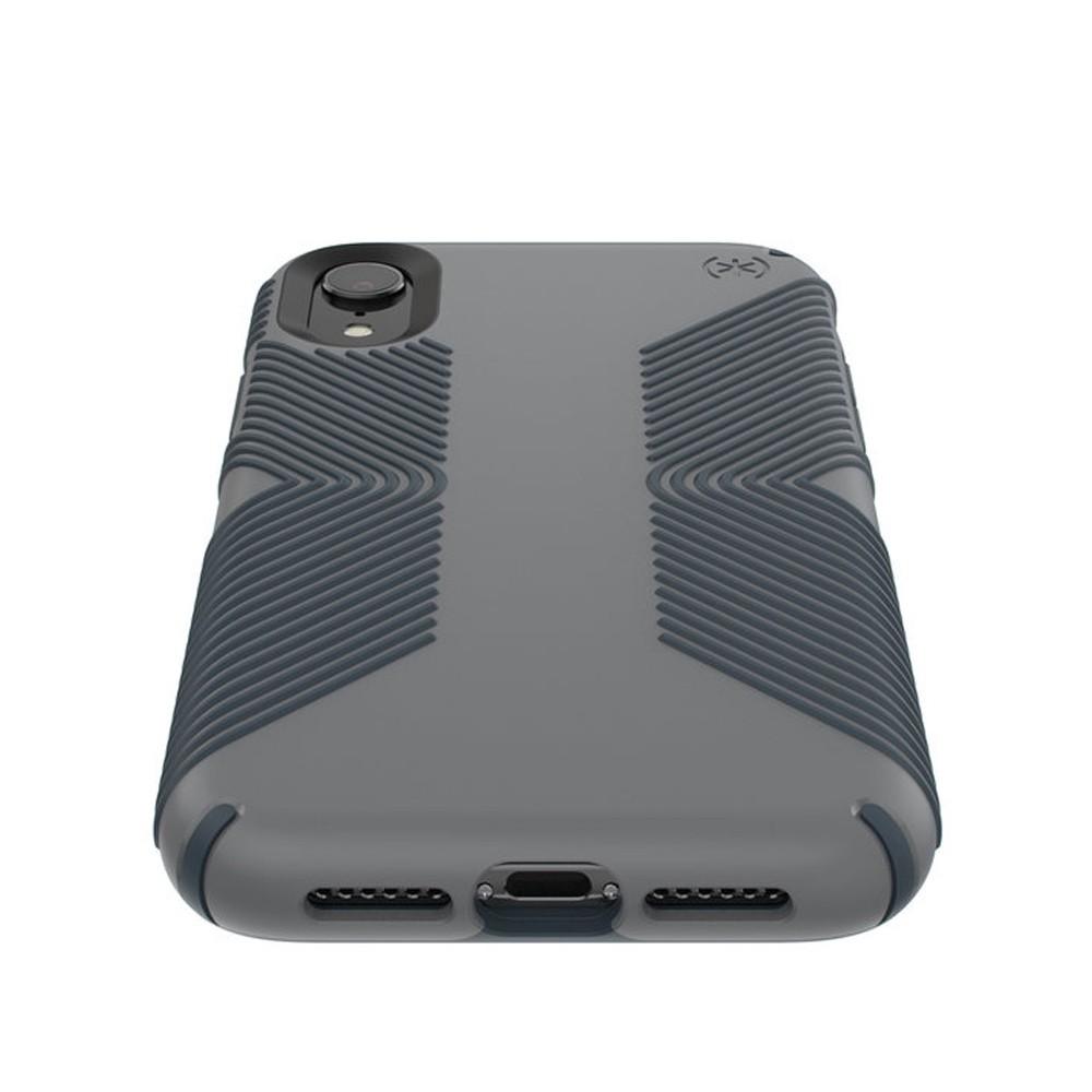 Speck Presidio Grip Case iPhone XR Grijs 03