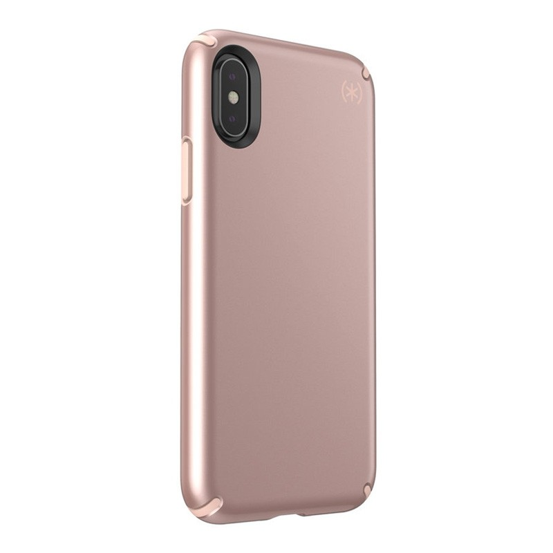 Speck Presidio Metallic iPhone X/XS Hoesje Roze - 3